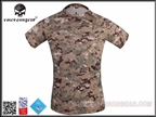 Picture of EMERSON Skin Tight Base Layer Camo Running Shirts (AOR2)