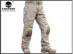 Picture of EMERSON G3 Tactical Pants W/ knee Pads (TAN)