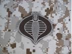 Picture of Emerson Cobra Commander Velcro GI Joe Morale Patch (DE)