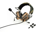 Picture of Z Tactical zCOMTAC IV IN-THE-EAR Headset (Dark Earth)