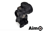 Picture of AIM MRO Red Dot with QD Riser Mount & Low Mount (BK)