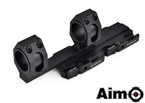 Picture of AIM Tactical Top Rail Extend 25.4 - 30mm Ring Mount (BK)