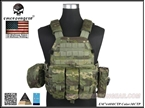 Picture of EMERSON 6094A Style Tactical Vest With Pouch Set (Multicam Tropic)