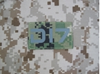 Picture of Dragonind IR Patch radio Number Seal (DI7 AOR2)