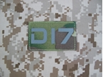 圖片 Dragonind IR Patch radio Number Seal (DI7 MC)