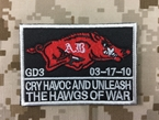 """Picture of Warrior Navy Seals """"The Hawgs of War"""" Patch"""