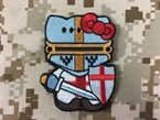 Picture of Warrior Hello Kitty x Crusader Morale Velcro Patch