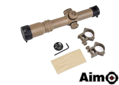 Picture of AIM 1-4 x 24SE Tactical Scope (Red / Green Reticle) (DE)
