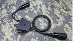 Picture of TCA Davies Style E-Switch Single Comm 6-PINS PTT for PRC-148 / 152