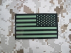 Picture of Dummy OD/IR US Flag Right Devgru Patch mlcs aor lbt
