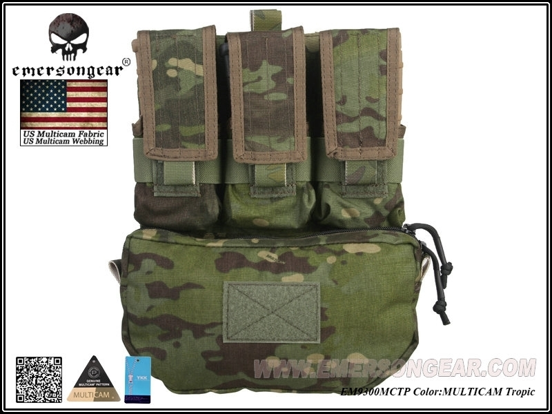 Picture of Emerson Gear Assault Back Panel (Multicam Tropic)