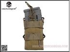 Picture of EMERSON Double Modular Rifle Magazine Pouch (KH)