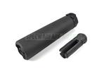 Picture of DYTAC Socom RC 2 Airsoft Silencer w/ 3P Flash Hider (Cerakote Black)