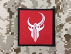 Picture of Warrior Devgru Navy SEALs Red Team Squad Patch (Red) mbss mlcs aor1