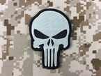 Picture of Warrior Punisher Skull Navy Seal Velcro Patch (Big)