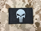 Picture of Warrior Punisher Skull Navy Seal Velcro Patch (Black)