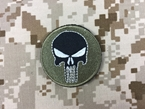 Picture of Warrior Punisher Skull Navy Seal Velcro Patch (Small)