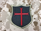 Picture of Warrior SEAL Team 6 Crusader Velcro Patch