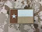 Picture of Warrior Texas Flag Velcro Patch (Desert)