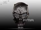 Picture of FMA Full Face Skeleton Mask Of Terror (BK)