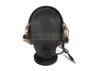 Picture of TCA COMTAC III Single Com Noise Reduction Headset For TCA TRI / Real Mil-Spec PTT 2017 New Version (CB)