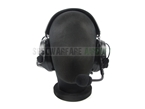 Picture of TCA COMTAC III Single Com Noise Reduction Headset For TCA TRI / Real Mil-Spec PTT 2017 New Version (Black)