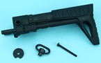 Picture of G&P M4 AEG PDW Stock Slim (Snake, Black)
