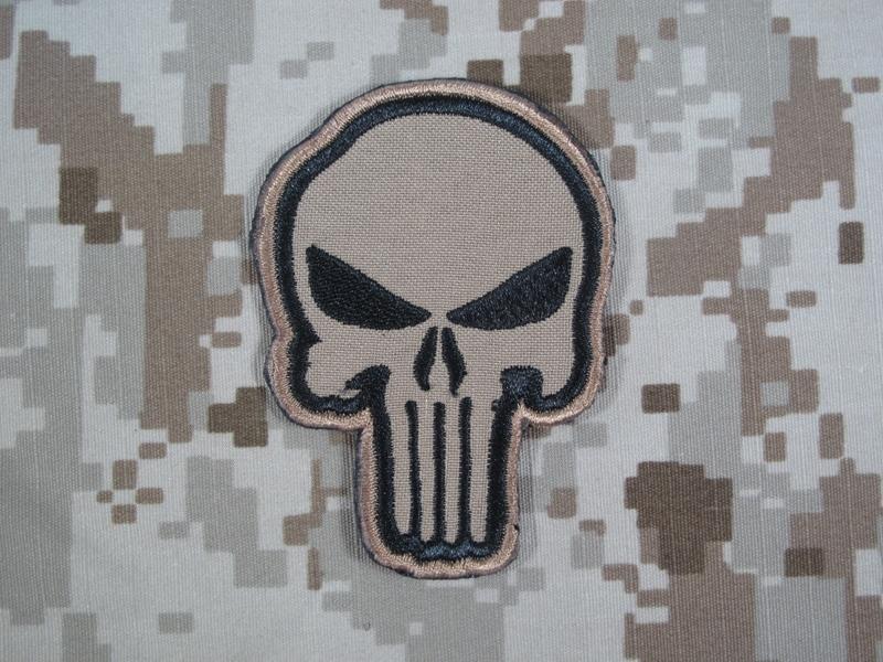 specwarfare airsoft warrior punisher skull navy seal velcro patch cb