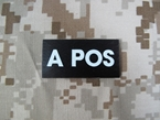 Picture of Warrior A POS Blood Type Patch IR Reflective (Free shipping)