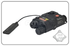 Picture of FMA AN-PEQ-15 Upgrade Version LED White Light + Red Laser With IR Lenses With Code (Black)