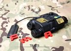 Picture of FMA PEQ LA5-C Upgrade Version LED White Light + Green/IR Laser (Black)
