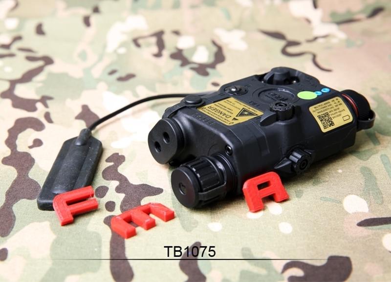 Picture of FMA PEQ LA5-C Upgrade Version LED White Light + Green/IR Laser (Black)