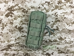 Picture of FLYYE SpecOps Vertical Thin Utility Pouch (Ranger Green)