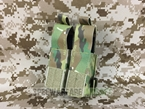 Picture of FLYYE Molle Double 9mm Pistol Magazine Pouch (500D Multicam)