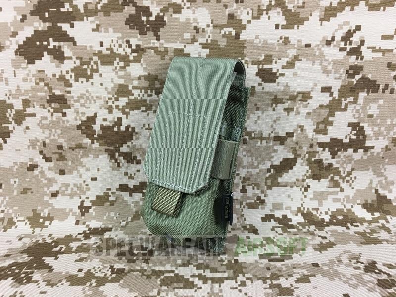 Mi MOLLE System Holder Army Webbing Khaki Flyye Triple Mag Ammo Pouch Ver