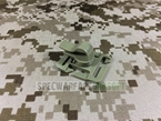 "Picture of Warrior 1"" Molle Wire Administrator (Tan) For Radio PRC148 PRC152 PTT"