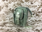 Picture of FLYYE MOLLE Mini Duty Pouch Waist Bag (Ranger Green)