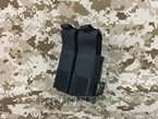 Picture of FLYYE Molle Double .45 Pistol Magazine Pouch (Black)
