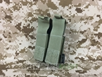 Picture of FLYYE Molle Double .45 Pistol Magazine Pouch (Ranger Green)
