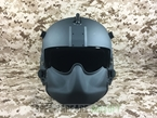 Picture of EVI Hgu-56/p Rotary Wing Aircrew Helmet Dummy (Black)