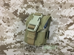 Picture of FLYYE Molle Single Frag Grenade Pouch (Coyote Brown)