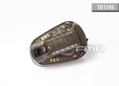 Picture of FMA HEL-STAR 6 GEN III Helmet Light (Green LED / BK)