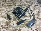 Picture of Element EX418 I-style LA-5 and WMX-200 Flashlight set (Black)