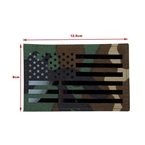 Picture of TMC Large US Flag Infrared Patch (Woodland) (Free shipping)