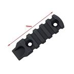 Picture of TMC Aluminum Rail Section for MLok (Black)
