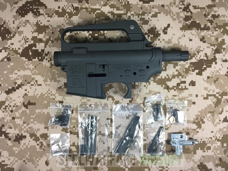 G&P M16VN Airsoft Metal Receiver for Marui/G&P M4 AEG