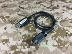 Picture of TCA AN/PRC-152A Style Radio USB 6pin Programming Cable