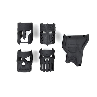 Picture of Wonderful MK Receiver Grip Set A (Black)