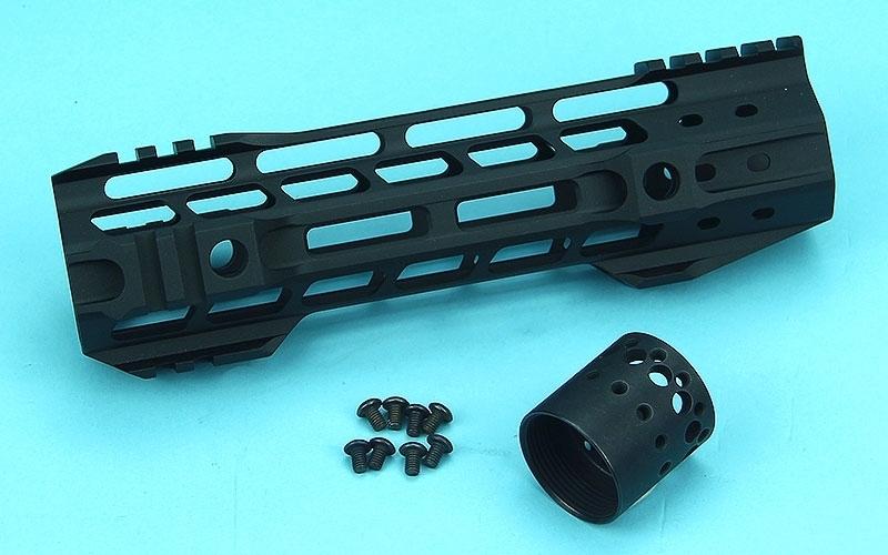 G&P 8 inch M-Lok Handguard Rail for M4 AEG/GBB Series (Black)