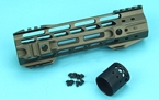 Picture of G&P 8 inch M-Lok Handguard Rail for M4 AEG/GBB Series (Sand)